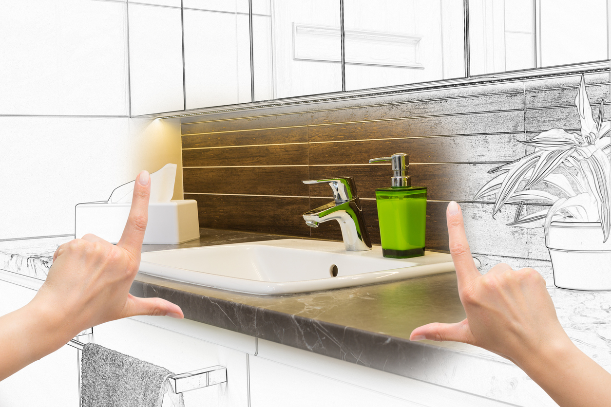 Bathroom design with IoT
